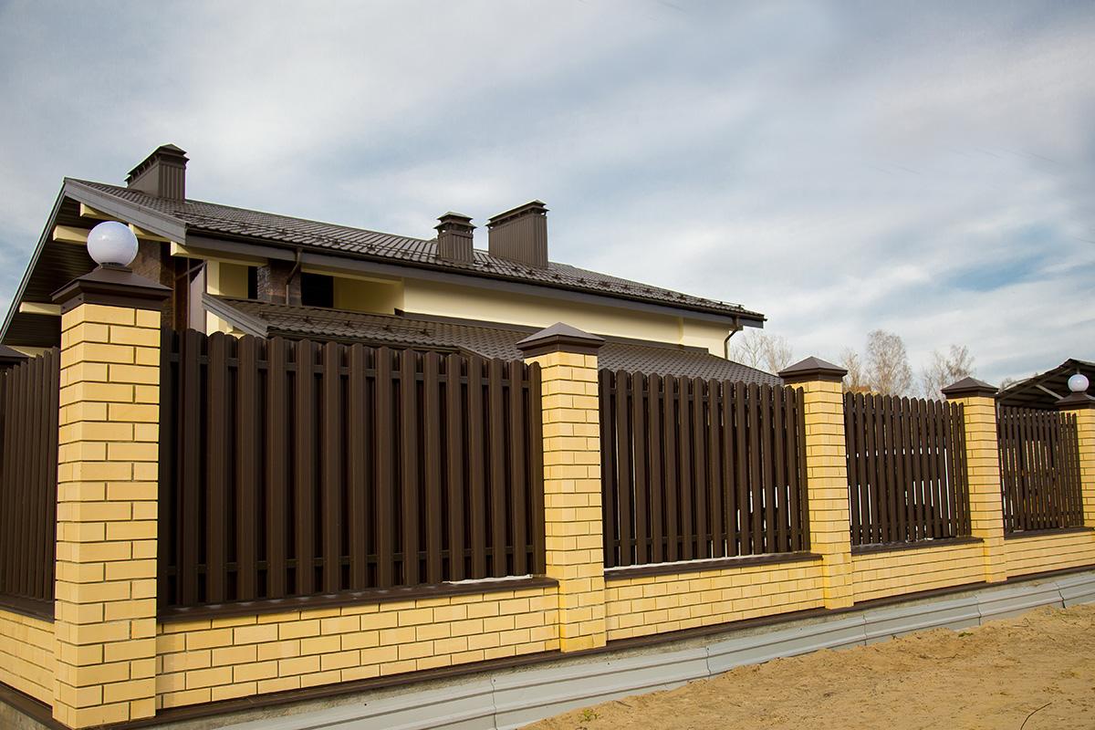 вторую чеченскую разновидности заборов для частного дома фото более длинные